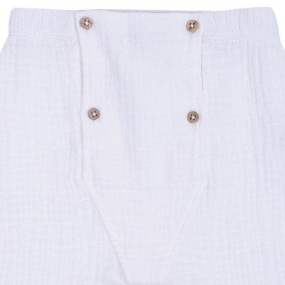 Emile et Ida Double Face Cotton Harem Trousers-listing