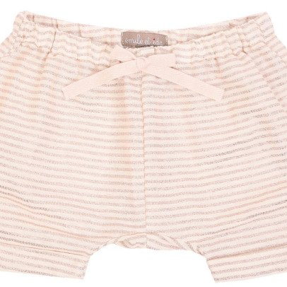 Emile et Ida Short a righe in lurex -listing