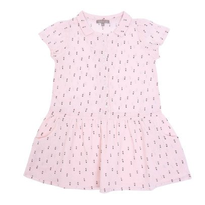 Emile et Ida Flower Crepon Dress-listing