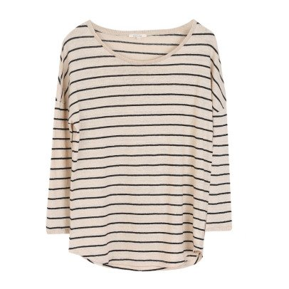 Emile et Ida Striped Linen T-Shirt - Women's Collection-listing