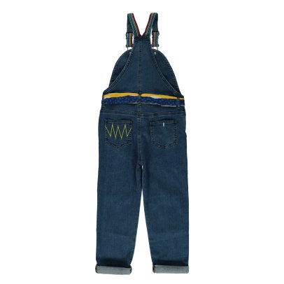 Stella McCartney Kids Salopette Détails Brodés Lucile Denim-product