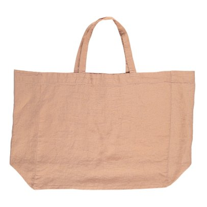 Linge Particulier Shopper in lino lavato -listing