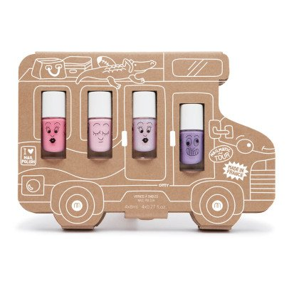 Nailmatic Kids Nagellack-Set im 4er-Pack Story Holiday  -listing