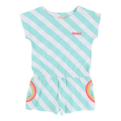 Billieblush Rainbow Striped Playsuit-listing