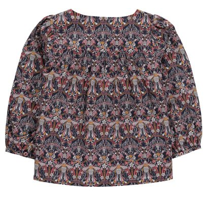 Poppy Rose Christine Liberty Blouse-listing