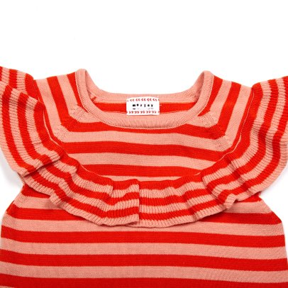 Morley Happy Ruffled Stripe Sleeveless Jumper-listing