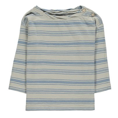 Le Petit Germain Helio Striped T-Shirt-listing