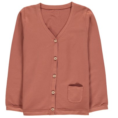 Le Petit Germain Hippi Fleece Cardigan-listing
