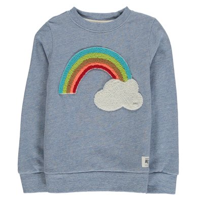 AO76 Sweat Arc en Ciel Nuage-product