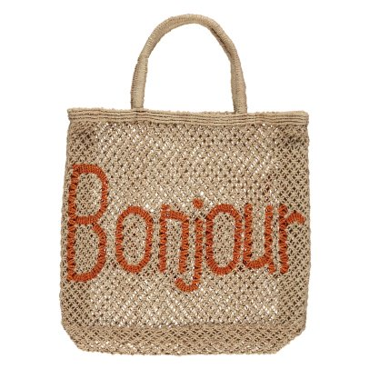 The Jacksons Bonjour Large Jute Shopper-listing