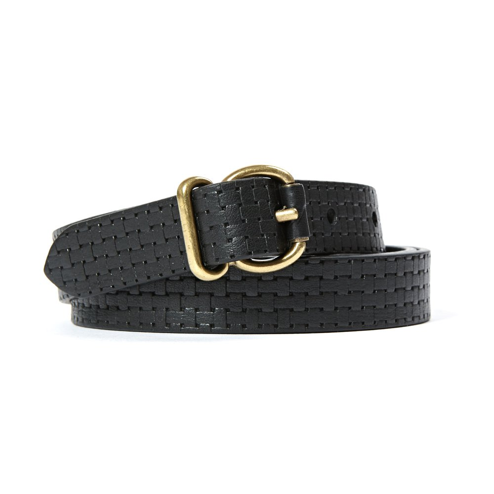 Carlo Embossed Leather Belt Sessun 5ieDp