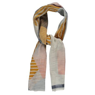 Ma poésie Roche Silk and Cotton Scarf-listing