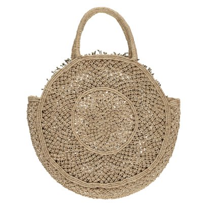 The Jacksons Borsa tonda in juta Lola -listing