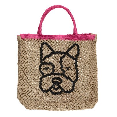 The Jacksons Shopper piccola in juta Small Frenchie -listing