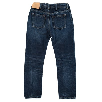 Acne Studios Jean Droit Bear Dark Blue-listing