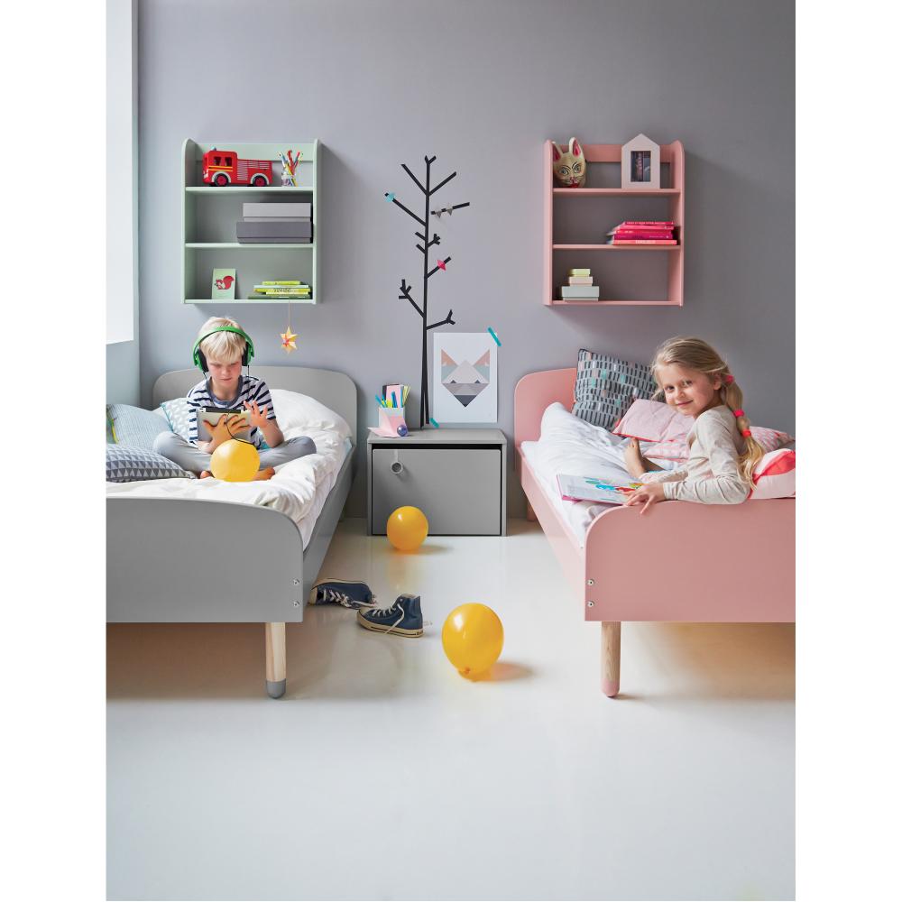 Kinderbett 90x190 hochbett kind flexa kinder edith x cm lattenrost jugendbett bett kindermobel - Kindermobel selber bauen ...