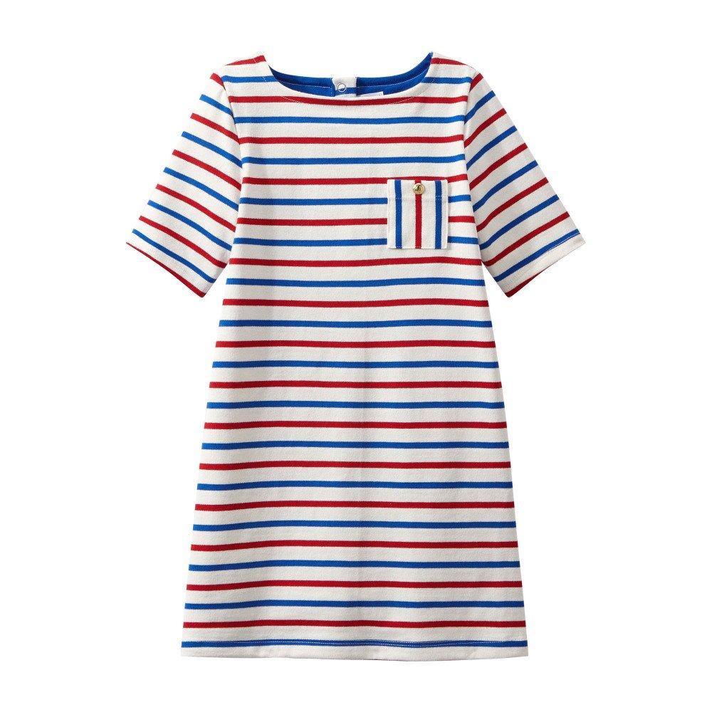 Kleid Melis Rot Petit Bateau Mode Kind
