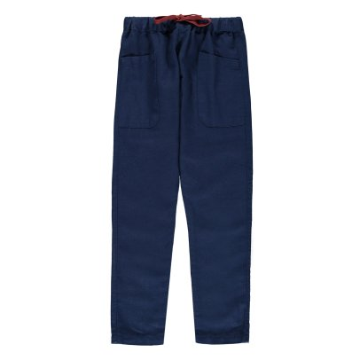 Emile et Ida Linen and Cotton Trousers-product