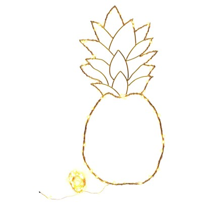 Zoé Rumeau Zoé Rumeau x Bonton x Smallable Exclusive Pineapple Light with Copper Garland-listing