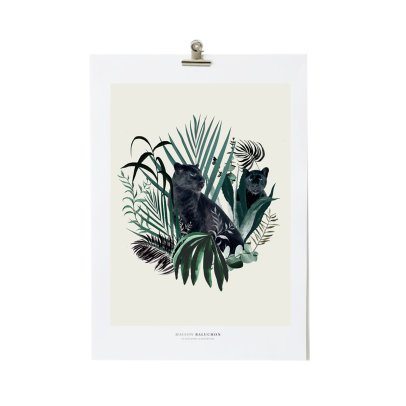 Maison Baluchon Illustration A3 Jungle N°18-listing