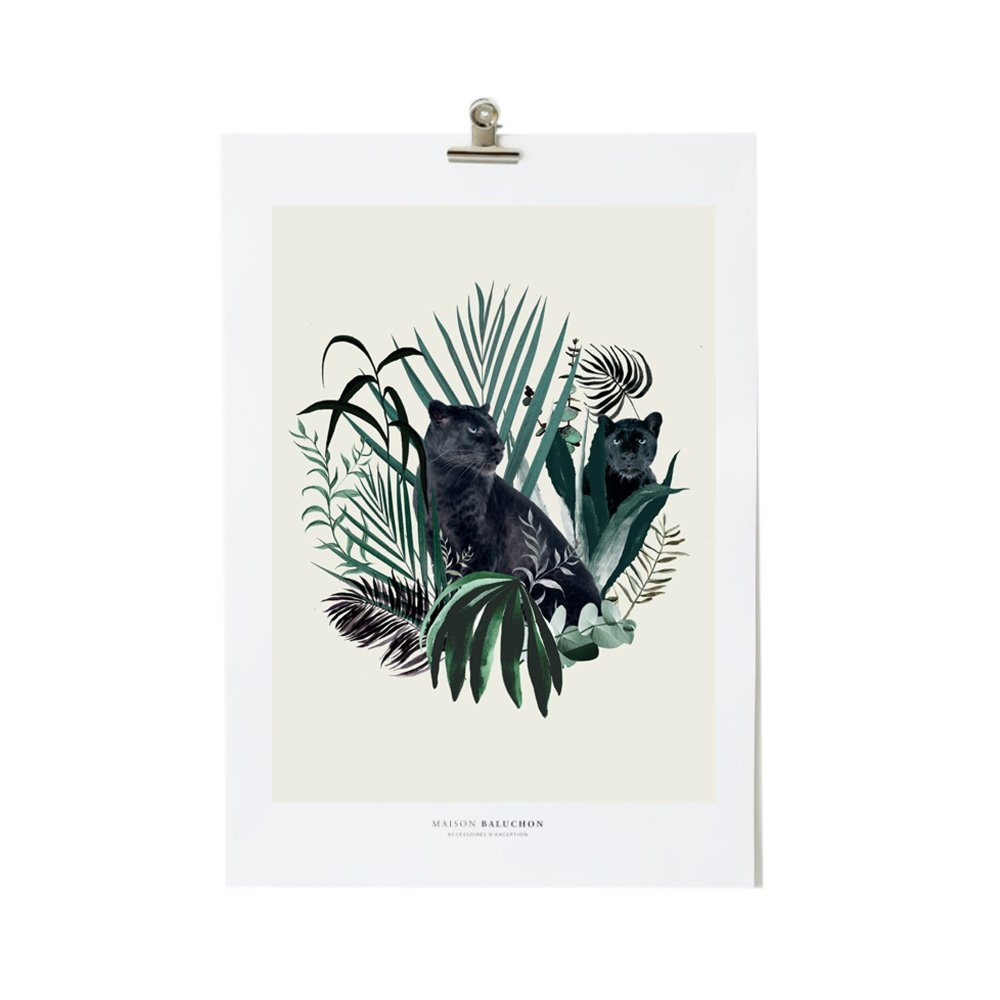 Illustration A3 Jungle N°18-product