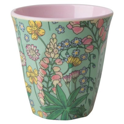 Rice Flower Printed Cup-listing