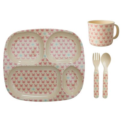 Rice Crabes Melamine Cutlery - 4 Piece Set-listing