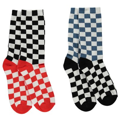 Stella McCartney Kids Patrick Suede Socks - Set of 2 Pairs-listing