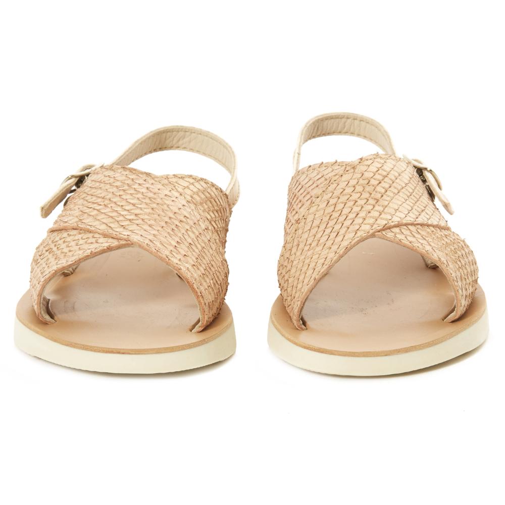 Sandales Cuir Ecaille - Pèpè xP8Q82