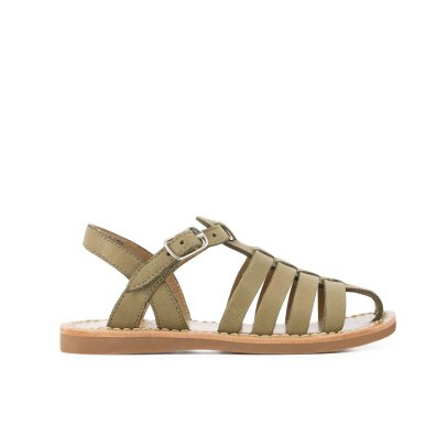 Pom d'Api Sandales Cuir Freesia Stitch Papy-listing