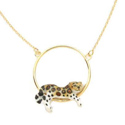 Nach Collana leopardo - Mini -listing