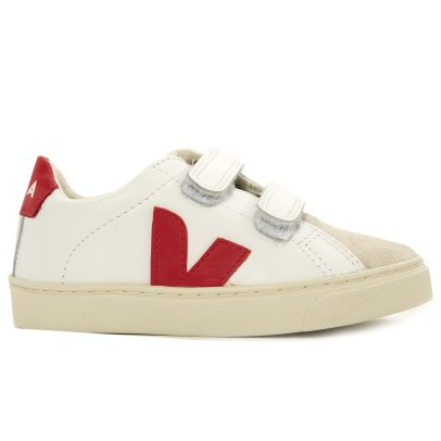 Veja Esplar Leather and Suede Velcro Trainers-listing