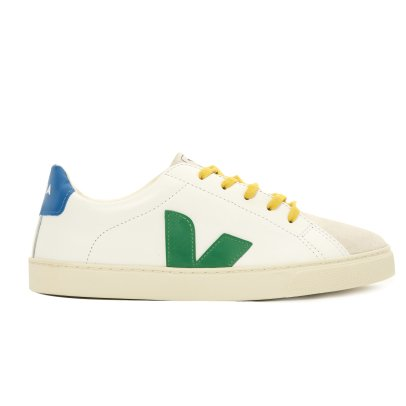 Veja Esplar Leather and Suede Lace-Up Trainers-listing