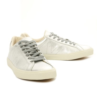 Veja Baskets Lacets Cuir Esplar Low-listing