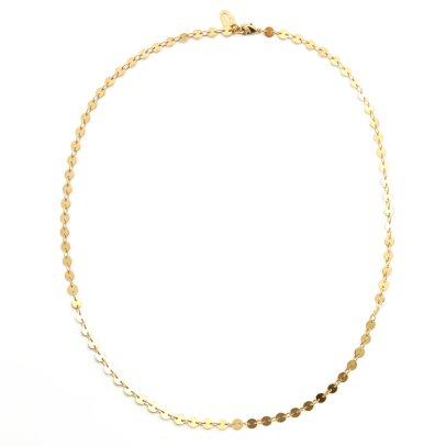 Titlee Bromme Fine Gold Plated Brass Necklace-listing