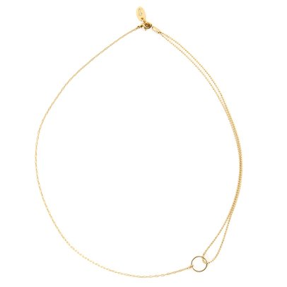 Titlee Midtown Fine Gold Plated Brass Necklace-listing