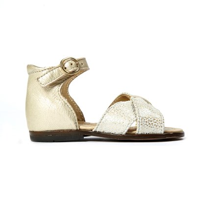 Sale - Diana Cross Leather Bow Sandals - Little Mary Little Mary Ac1BFhW