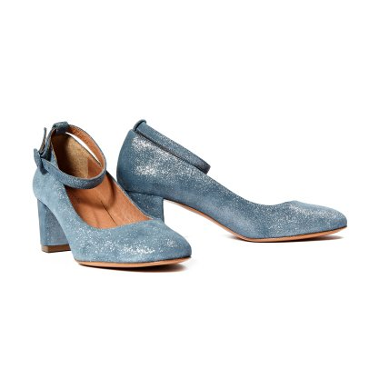 Sessun Scarpa Mary Jane in pelle iridescente -listing