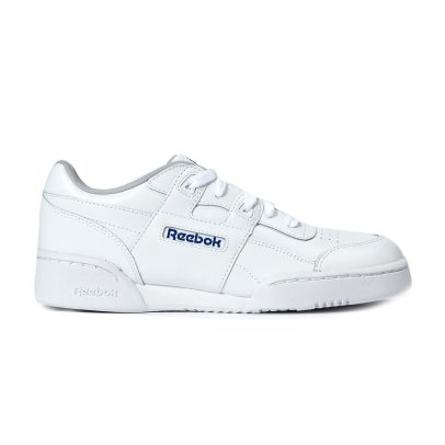 Reebok Plus Workout Leather Velcro Trainers-listing