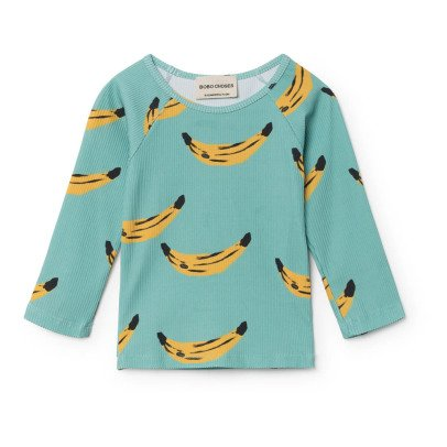 Bobo Choses Banana Swimming T-Shirt-listing