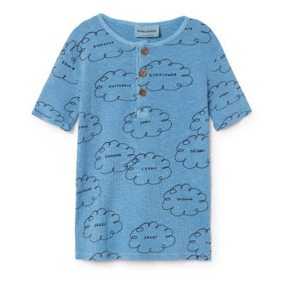 Bobo Choses Cloud Buttoned T-Shirt-listing