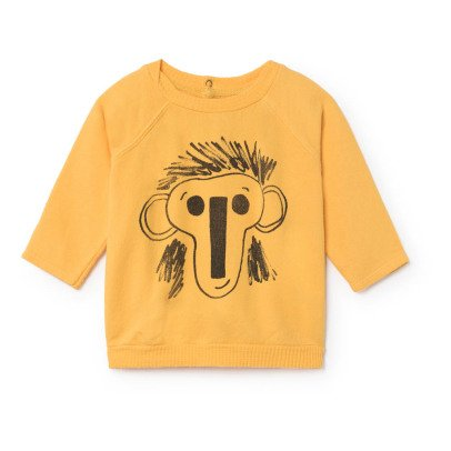 Bobo Choses Organic Cotton Monkey Sweatshirt-listing