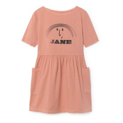 Bobo Choses Jane Organic Cotton Pocket Dress-listing