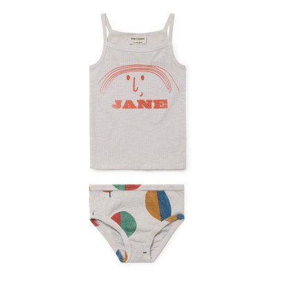 Bobo Choses Organic Cotton Jane Vest Top + Knickers Set-product
