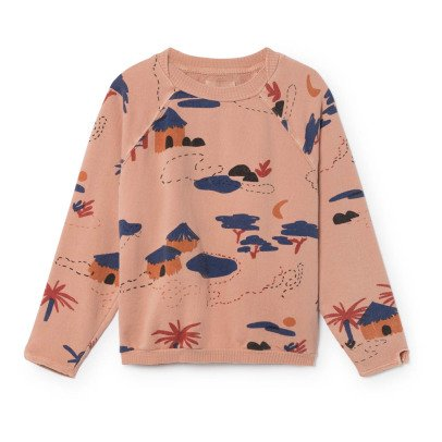 Bobo Choses Organic Cotton Village Sweatshirt-listing
