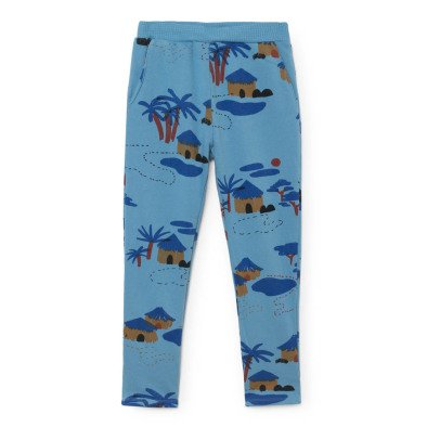 Bobo Choses Organic Cotton African Village Jogging Bottoms-listing