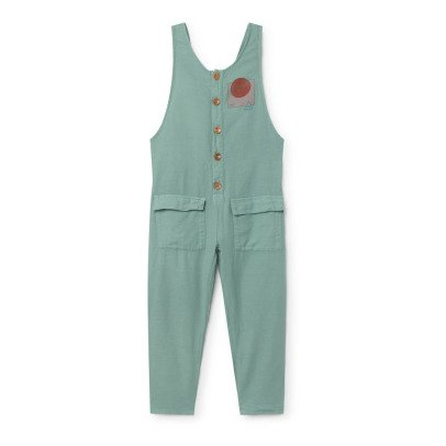 Bobo Choses The World Cross Back Baggy Jumpsuit-listing