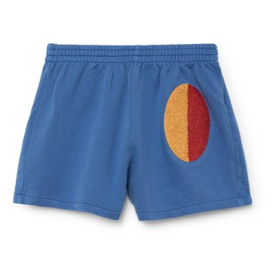 Bobo Choses Organic Cotton Patch Running Shorts-listing