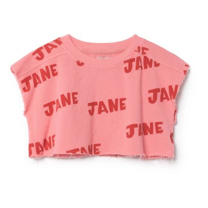 Bobo Choses Organic Cotton Jane Cropped Sweatshirt-listing