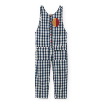 Bobo Choses Baggy Gingham Patch Jumpsuit-listing
